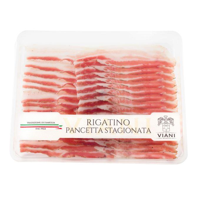 Rigatino - Pancetta stagionata - Salumificio Viani